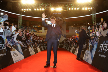 Tom Cruise 'Jack Reacher: Never Go Back' Seoul Premiere
