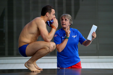 Tom Daley Jane Figueiredo FINA/NVC Diving World Series: Day 1