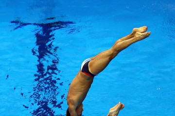 Tom Daley Peter Waterfield Olympics - Previews - Day - 1