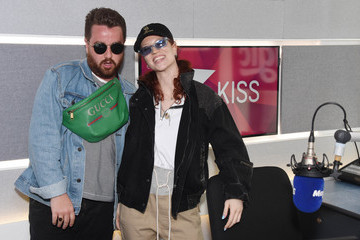 Tom Green Jess Glynne Visits KISS FM