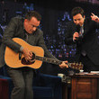 Tom Hanks has some serious rock star moves.