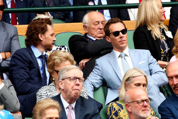 Tom Hiddleston Day Thirteen: The Championships - Wimbledon 2019
