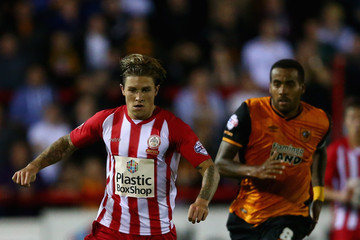 Tom Huddlestone Accrington Stanley v Hull City - Capital One Cup First Round