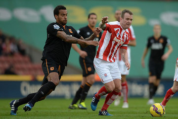 Tom Huddlestone Stoke City v Hull City - Premier League