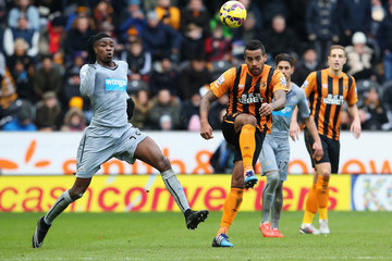 Tom Huddlestone Hull City v Newcastle United - Premier League