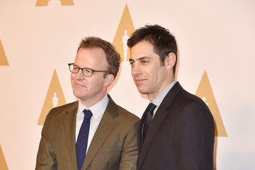 Tom McCarthy Josh Singer 88th Annual Academy Awards Nominee Luncheon - Arrivals