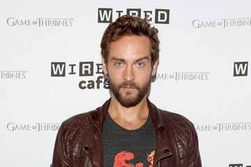 Tom Mison WIRED Cafe @ Comic Con - Day 3
