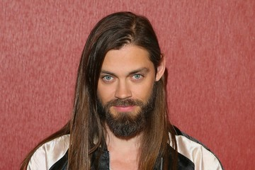 Tom Payne Fathom Events And AMC's 'Survival Sunday: The Walking Dead And Fear The Walking Dead' - Arrivals