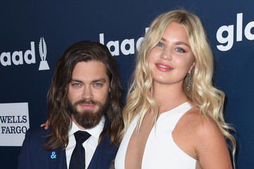 Tom Payne 28th Annual GLAAD Media Awards in LA - Red Carpet & Cocktails