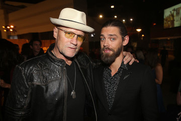 Tom Payne 'The Walking Dead' 100th Premiere and Party