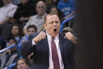 Tom Thibodeau Minnesota Timberwolves v Oklahoma City Thunder