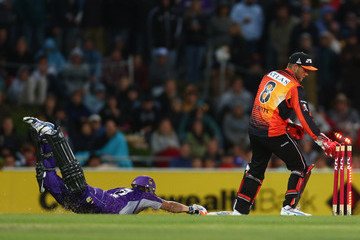 Tom Triffitt Big Bash League - Hurricanes v Scorchers