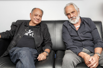 Tommy Chong Lounging with Legends: Cheech and Chong