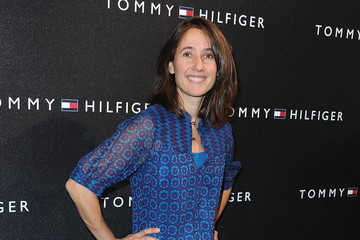 Alexia Laroche Joubert Tommy Hilfiger Champs-Elysees Flagship Opening - Red Carpet