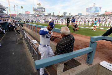 Tommy Lasorda St Louis Cardinals v Los Angeles Dodgers
