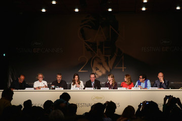 """Tommy Lee Jones Hilary Swank """"The Homesman"""" Press Conference - The 67th Annual Cannes Film Festival"""