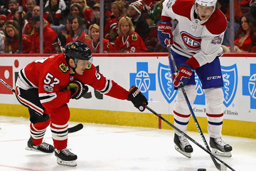 Tommy Wingels Montreal Canadiens v Chicago Blackhawks