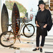 Tomo #UNCHAINME - An Art-Bike Show By Martone Cycling Co at Ron Robinson