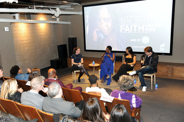 Toni Braxton The Cast and Producers From Lifetime's Film 'Faith Under Fire: The Antoinette Tuff Story' Attend the Red Carpet Screening