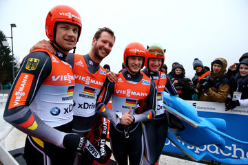 Toni Eggert Viessmann Luge World Cup Winterberg - Day 2