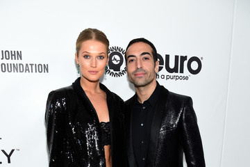Toni Garrn Mohammed Al Turki 27th Annual Elton John AIDS Foundation Academy Awards Viewing Party Sponsored By IMDb And Neuro Drinks Celebrating EJAF And The 91st Academy Awards - Red Carpet
