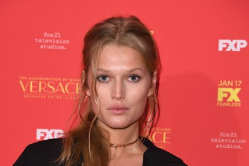 Toni Garrn 'The Assassination of Gianni Versace: American Crime Story' New York Screening