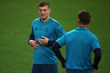 Toni Kroos Real Madrid Training and Press Conference