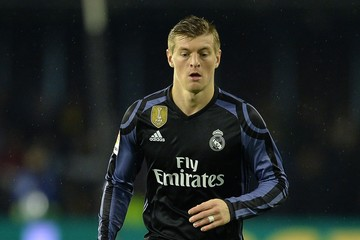Toni Kroos Celta Vigo v Real Madrid - Copa Del Rey Quarter-final: Second Leg