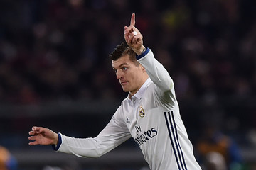 Toni Kroos Real Madrid v Kashima Antlers- FIFA Club World Cup Final