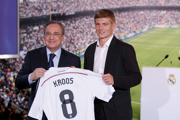 Toni Kroos Officially Unveiled at Real Madrid - Zimbio 57f9efe8f