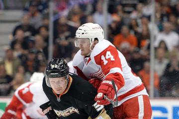 Toni Detroit Red Wings v Anaheim Ducks