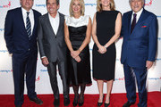 Co-Chair, CCO of Netflix Ted Sarandos, Honoree, President, COO and CFO, of iHeartMedia, Inc. Richard Bressler, Lisa Gersh, Susan Benedetto and Tony Bennett attend the 11th Annual Exploring The Arts Gala 2018 at The Ziegfeld Ballroom on January 30, 2018 in New York City.