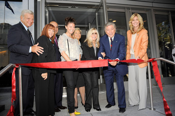 AJ Lambert Tony Bennett Hosts Ribbon Cutting at Frank Sinatra School of the Arts