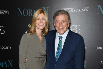 Tony Bennett Susan Benedetto The Cinema Society Hosts a Screening of Sony Pictures Classics' 'Norman' - Arrivals