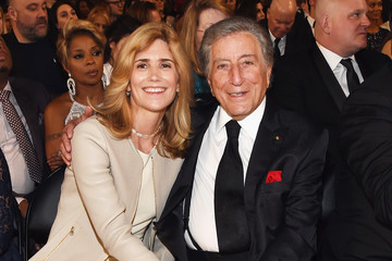 Tony Bennett Susan Benedetto The 57th Annual GRAMMY Awards - Backstage