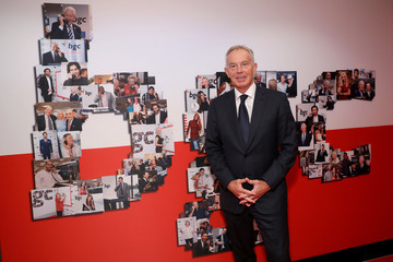 Tony Blair Annual Charity Day Hosted By Cantor Fitzgerald, BGC, And GFI - BGC Office - Arrivals