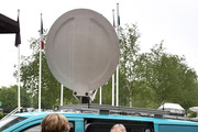 Former British Prime Minister Tony Blair exits a television satellite broadcast van as he attends the European People's Party (EPP) Group Bureau meeting at Druids Glen on May 12, 2017 in Wicklow, Ireland. Brexit and negotiating objectives will top the agenda at the meeting alongside the unique circumstances regarding the hard border issue between northern and southern Ireland, the only physical border between the United Kingdom and Europe. Mr Blair has signaled a return to politics in light of the Brexit vote. The meeting also features European Commission Brexit chief negotiator Michel Barnier.
