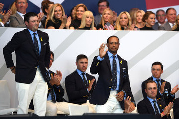 Tony Finau Patrick Reed 2018 Ryder Cup - Opening Ceremony