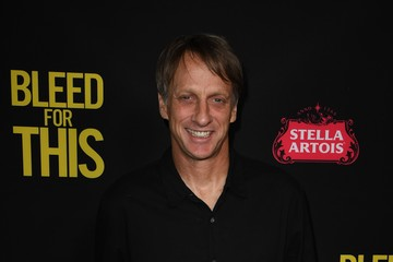 Tony Hawk Premiere of Open Road Films' 'Bleed for This' - Arrivals