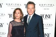 Robin Dearden and Bryan Cranston attend the Tony Honors Cocktail Party Presenting The 2019 Tony Honors For Excellence In The Theatre And Honoring The 2019 Special Award Recipients at Sofitel Hotel on June 03, 2019 in New York City.