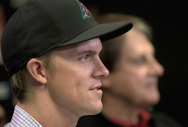 Arizona Diamondbacks Introduce Zack Greinke