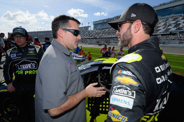 Tony Stewart Monster Energy NASCAR Cup Series Advance Auto Parts Clash