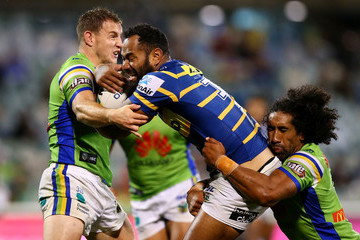Tony Williams NRL Rd 6 - Raiders vs. Eels