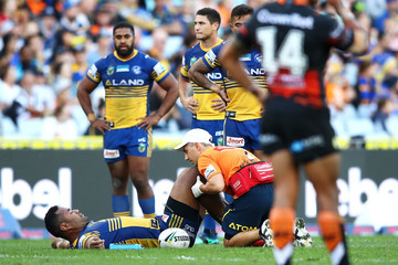 Tony Williams NRL Rd 8 - Eels vs. Tigers