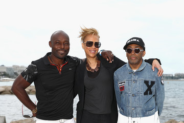 Tonya Lewis Lee The Blackhouse Foundation Host Brunch Honouring Spike Lee & Tonya Lewis Lee Photocall - The 71st Annual Cannes Film Festival