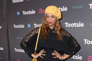 """Tyra Banks attends the opening night of """"Tootsie"""" on Broadway at the Marquis Theatre on April 23, 2019 in New York City."""