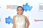 """Actress Miranda Tapsell attends the screening of """"Top End Wedding"""" during the 2019 Australian Screen Forum at the Elinor Bunin Munroe Film Center on March 22, 2019 in New York City."""