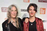 """Patti Smith and Jesse Smith attend """"Top Of The Lake China Girl"""" Premiere at Walter Reade Theater on September 7, 2017 in New York City."""