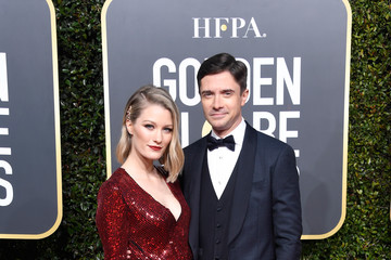 Topher Grace Ashley Hinshaw 76th Annual Golden Globe Awards - Arrivals