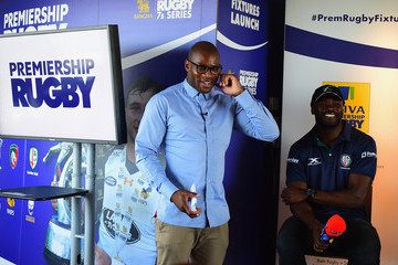 Topsy Ojo Premiership Rugby Fixture Launch 2017-2018